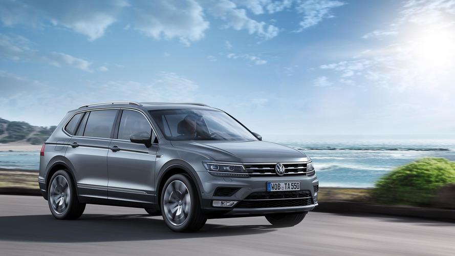 Volkswagen Tiguan Allspace 2017, el SUV de VW para el salón de Ginebra