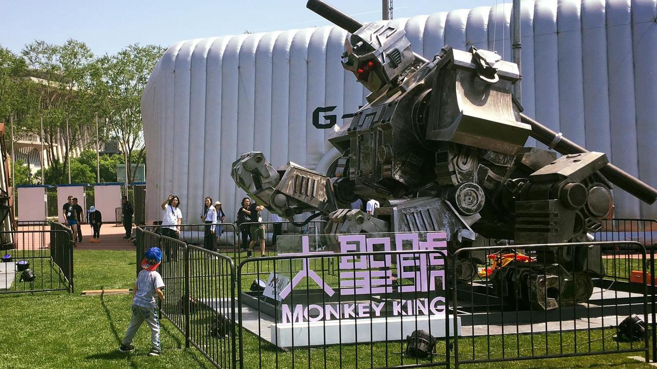 Greatmetal Monkey King Robot