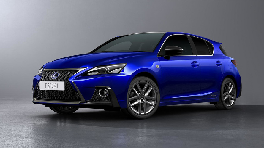 Lexus Announces Another Facelift For CT200h