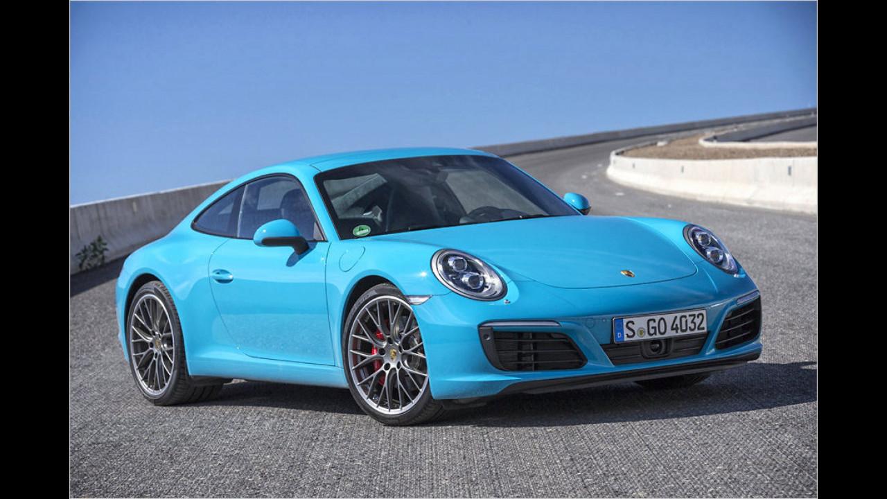 Platz 8: Der Porsche 911 S mit 420 PS