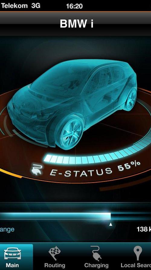 BMW i3 smartphone app teased