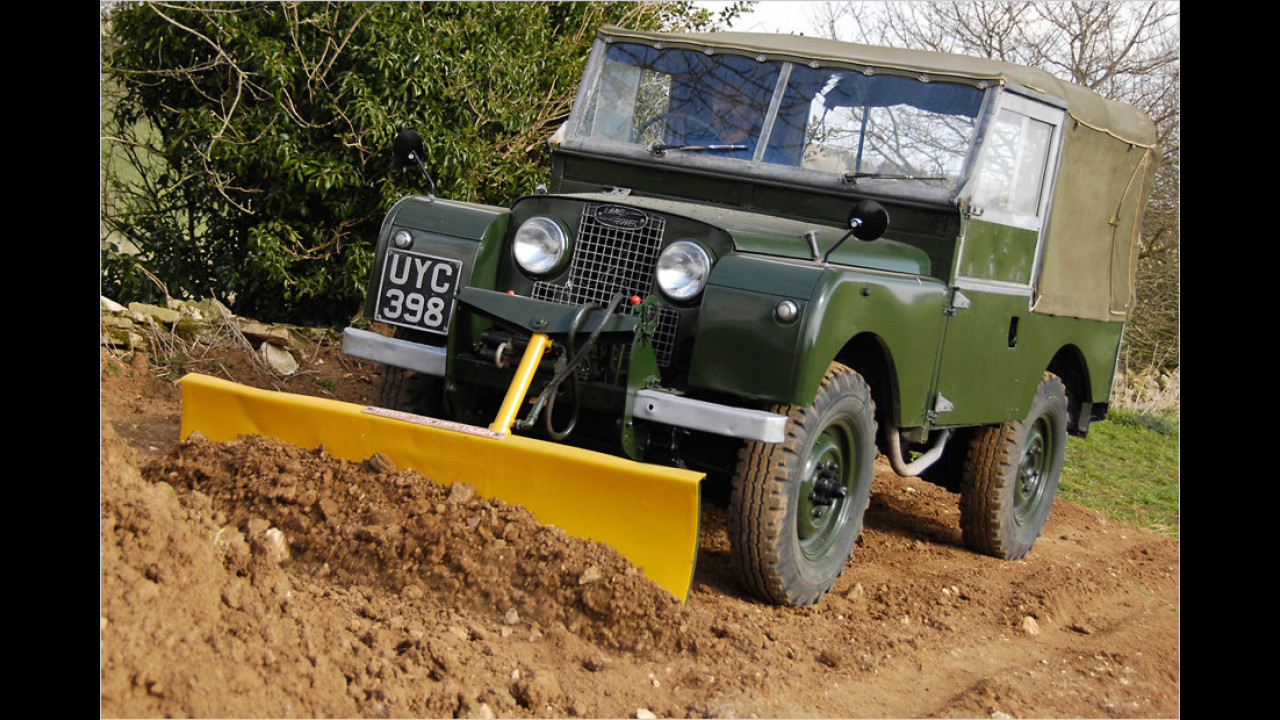 1955 86'' Series I Howie Snow Plough