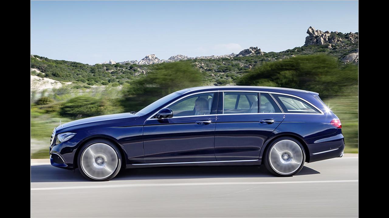 Kombi: Mercedes E-Klasse T-Modell