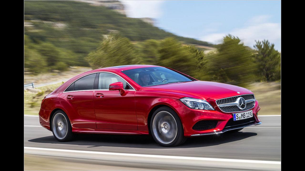 Oberklasse, Platz 2: Mercedes CLS (1.315 Stück)