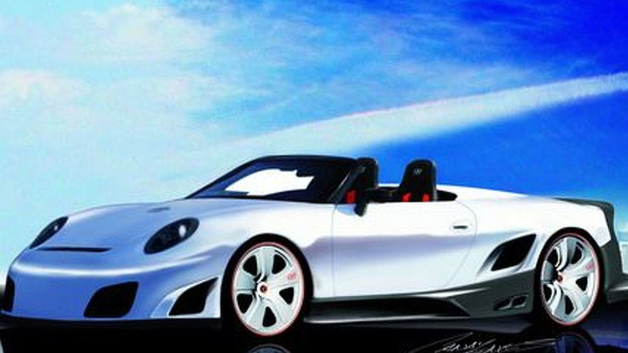 9ff GT9-R convertible artist rendering - low res