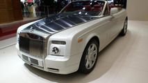 Rolls Royce Phantom Drophead Coupe live in Paris 30.09.2010