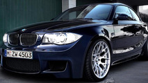 2011 BMW 1-Series M Coupe rendering