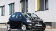 Toyota Aygo Black Announced in UK