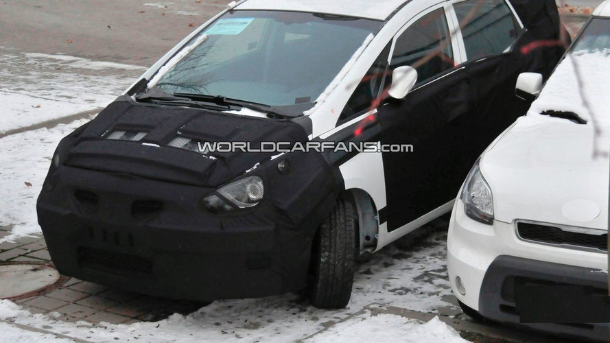Hyundai Crossover Spied Resembling HED-5 i-Mode Concept - First Photos