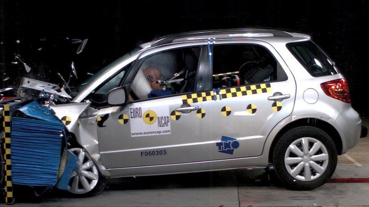Suzuki SX-4 Crash Test