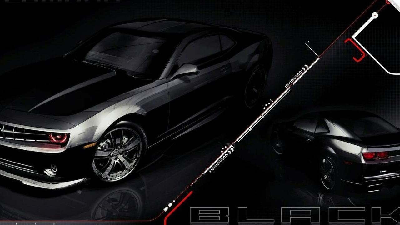 Chevrolet Camaro Black - SEMA 2008