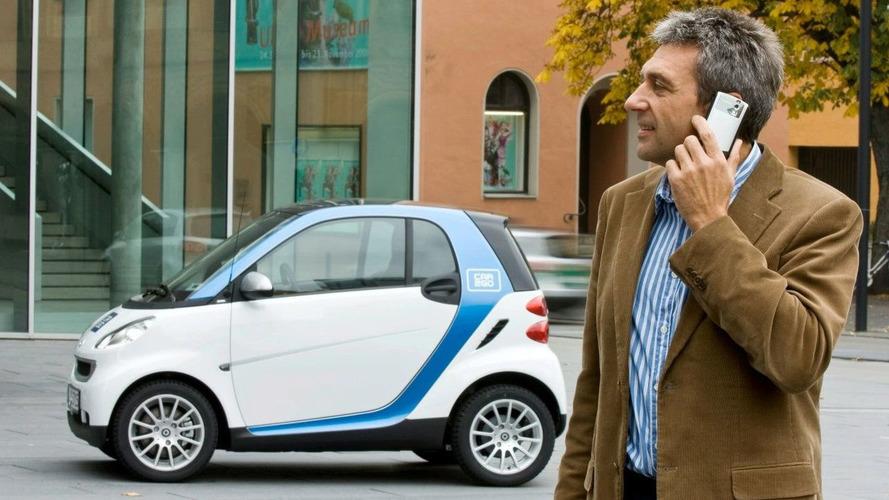 Smart car2go service autopartage Daimler