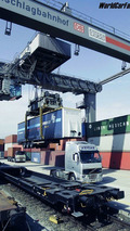 Porsche Ships Engines to Finland in Mega Trailers