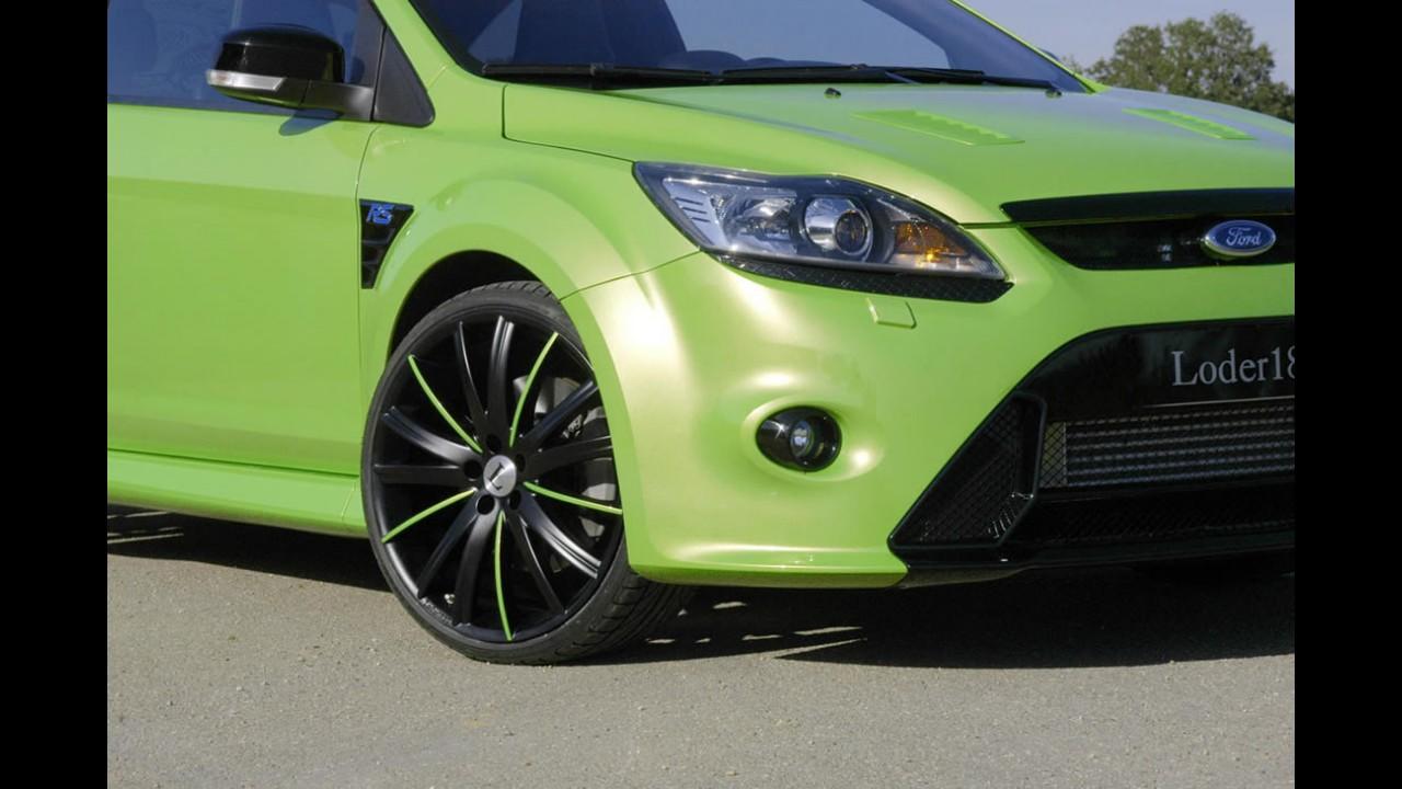 Ford Focus RS chega a 370 cv de potência com preparação da Loder - Fotos em alta resolução