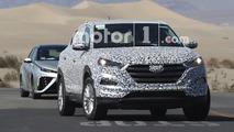 2016 - Hyundai Tucson FCEV Test Mule Spy Shots - Motor1