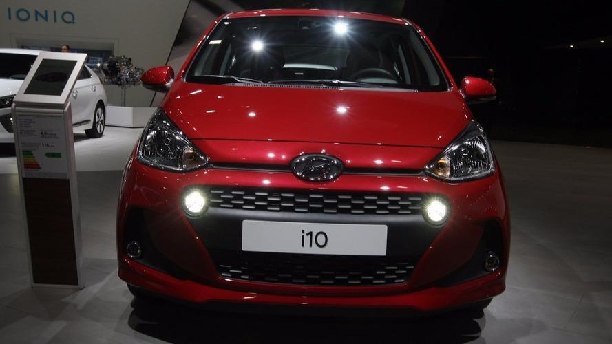 2017 Hyundai i10, Paris'te yeni yüzünü gösterdi