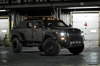 This Tactical Vehicle is Street Legal and Very Mean