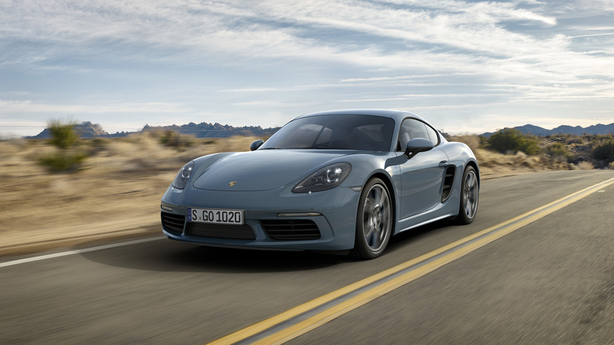 2017 Porsche 718 Cayman welcomes four-cylinder engines