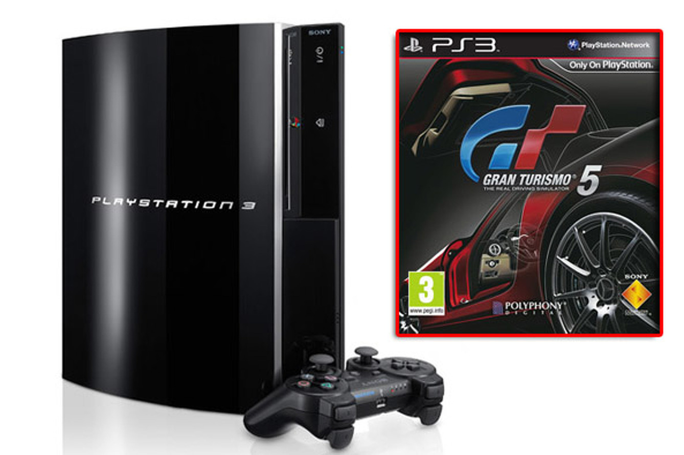 Win a Playstation 3 with Gran Turismo 5