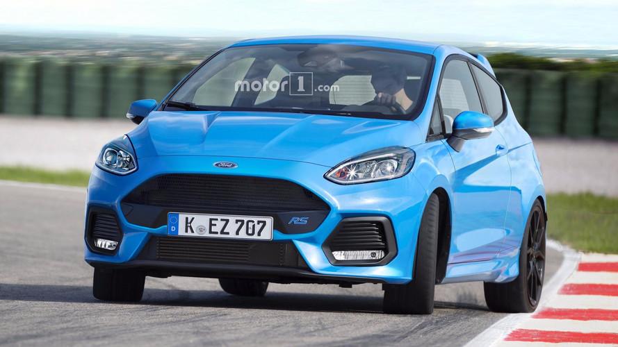 Ford Fiesta RS 2018 poderia ter mais ou menos essa pegada