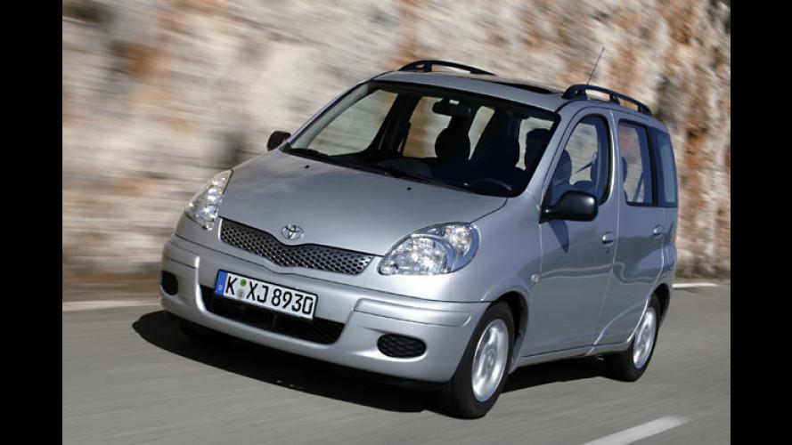 Toyota Yaris Verso: Außen kompakt und innen flexibel