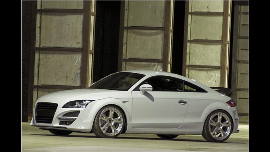 Audi TT kommt jetzt auch als weißer Engel und roter Teufel