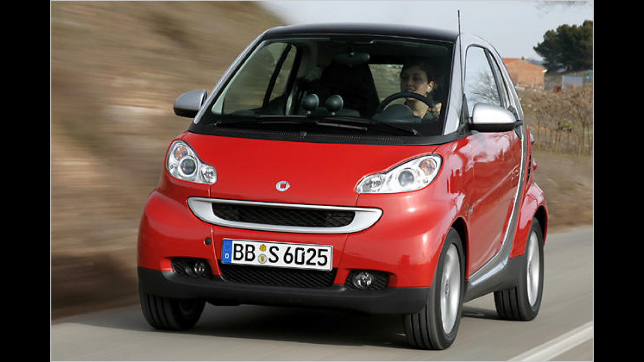 smart fortwo coupé 0.8 cdi pure DPF