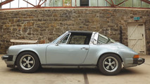 Porsche 911 Electric with battery from Tesla Roadster