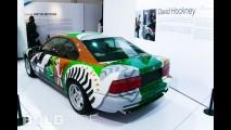 BMW 850 CSi David Hockney Art Car