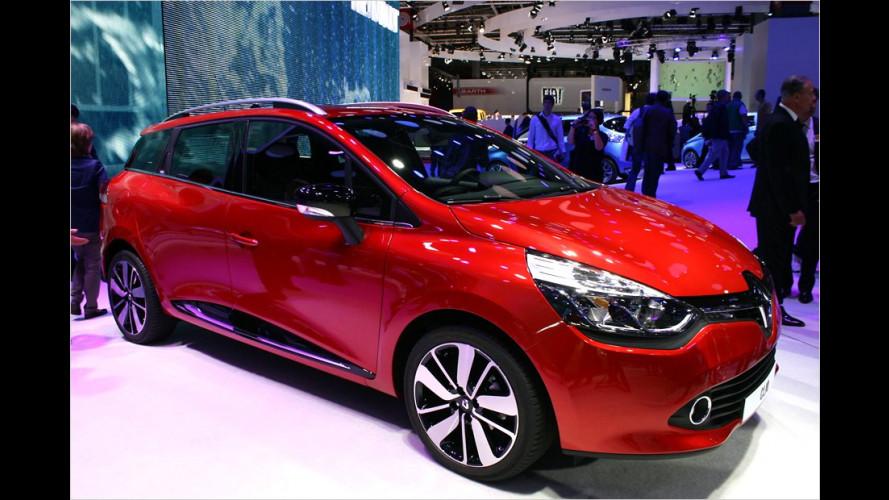 Renault: Clio-Trio in Paris
