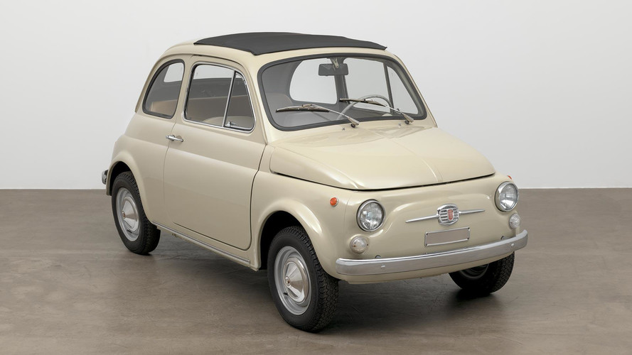 Classic Fiat 500 Recognized As Art By Joining MoMA's Collection