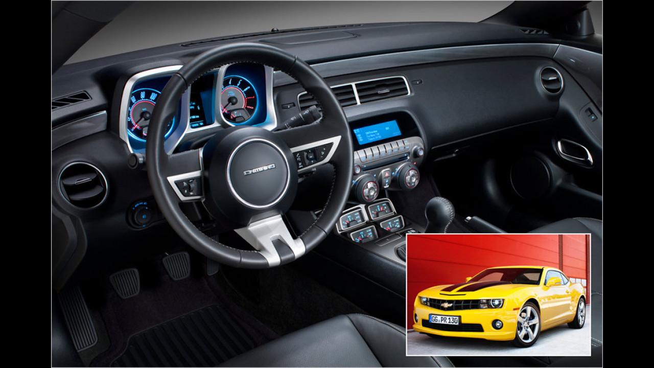Chevrolet Camaro: Boston Acoustics