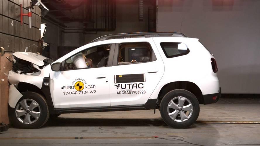 Novo Duster alcança apenas 3 estrelas nos testes do Euro NCAP