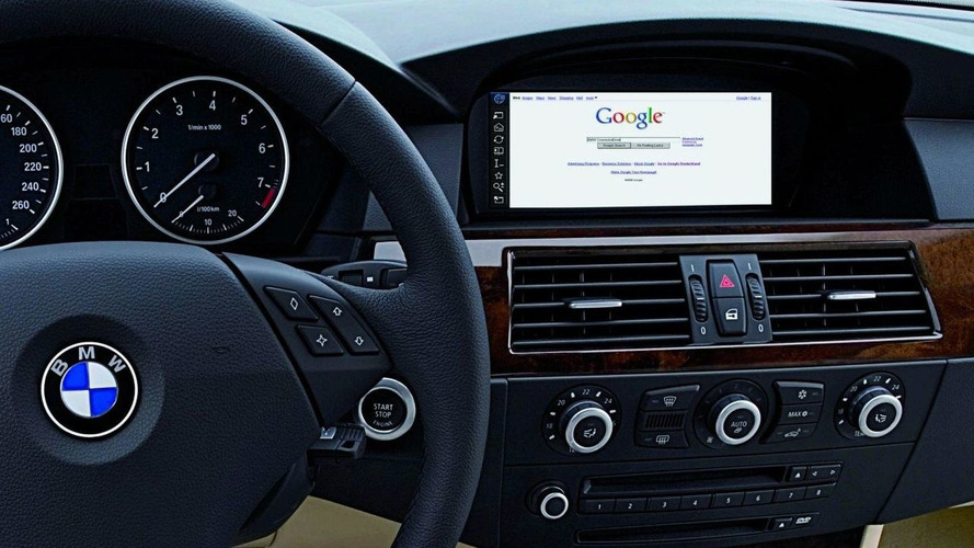 BMW World Debut for Unrestricted Internet Use at Geneva