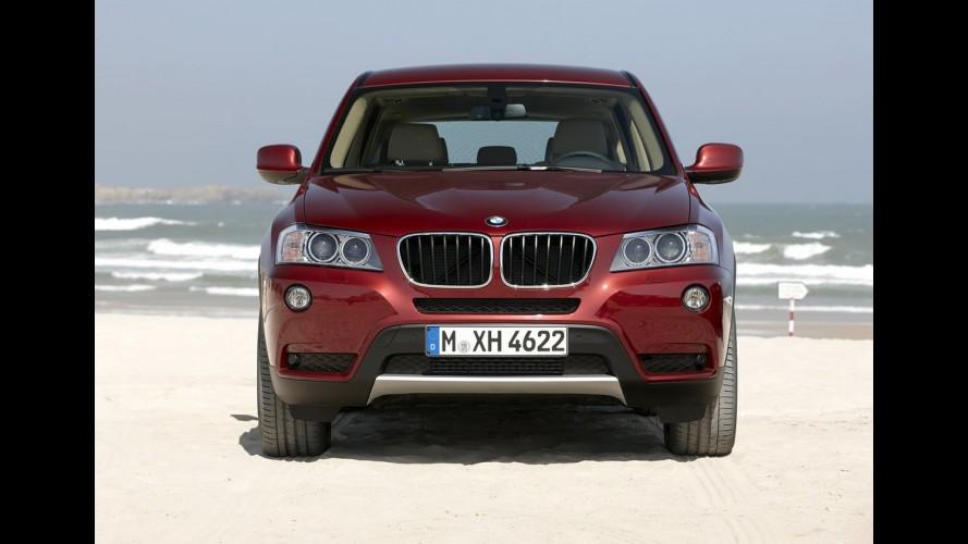 BMW fará apresentação oficial do crossover X4 Concept no Salão de Detroit