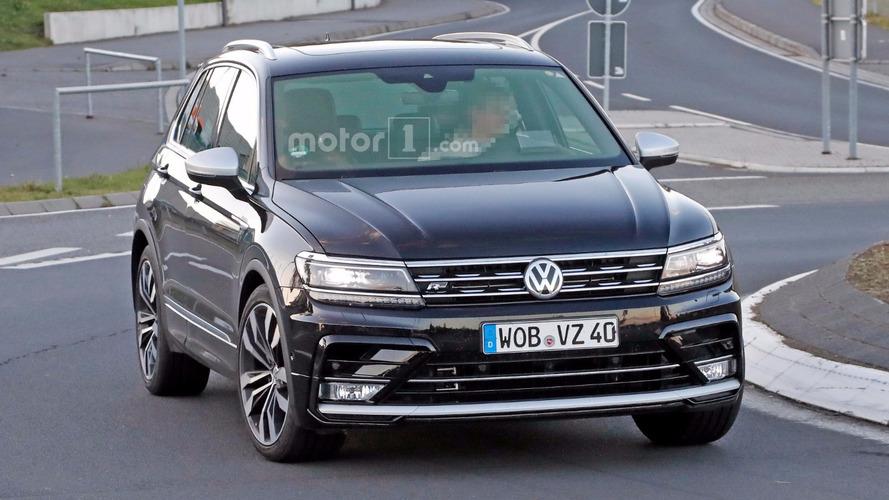 VW Tiguan R - Flagra