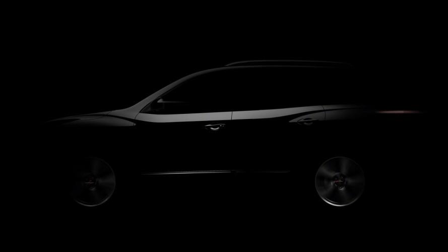 Nissan divulga primeiro teaser de conceito que antecipa quarta geração do SUV Pathfinder