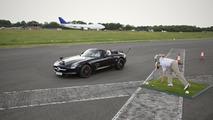 Mercedes SLS AMG Roadster world record golf ball catch 21.06.2012