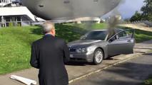 BMW gyújtogatás