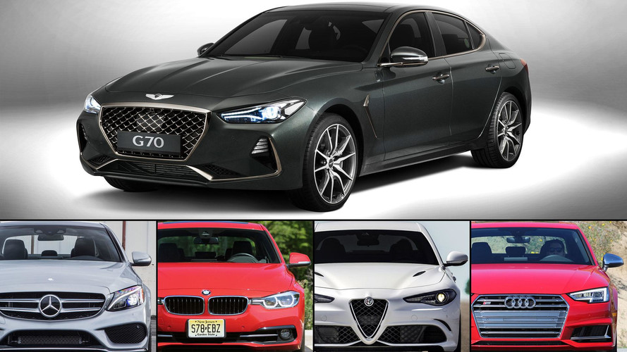 2018 Genesis G70 Versus Its European Rivals