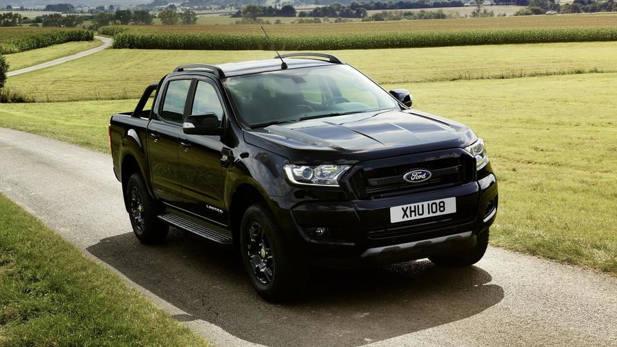 Ford Ranger Black Edition será apresentada em Frankfurt