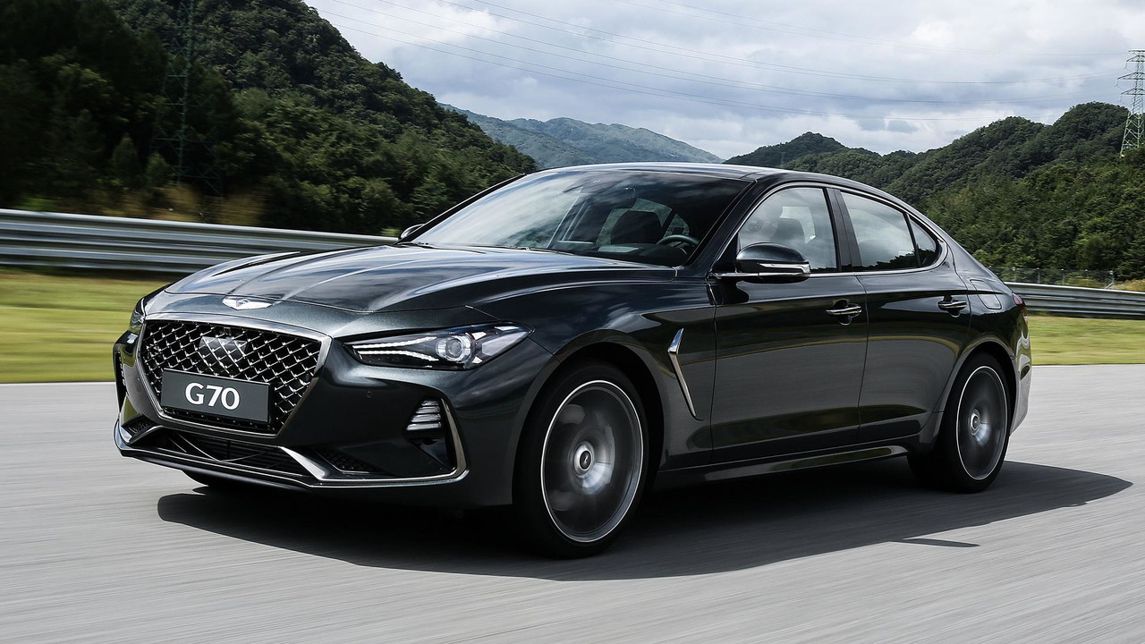 2020 Genesis G70 Coupe