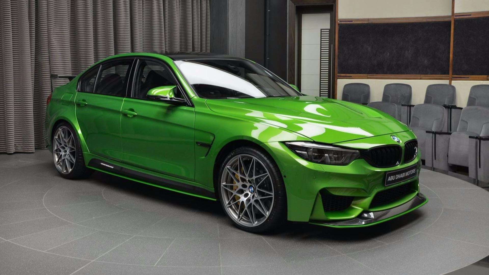 bmw m3 coupe green - photo #14
