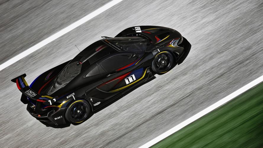 Une McLaren P1 GTR aux couleurs de James Hunt
