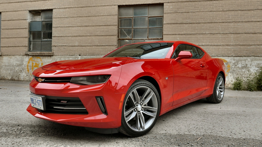 Review: 2016 Chevrolet Camaro LT RS V6