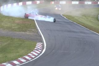 Watch a Honda S2000 Crash at Nürburgring While One Wheel Keeps Racing