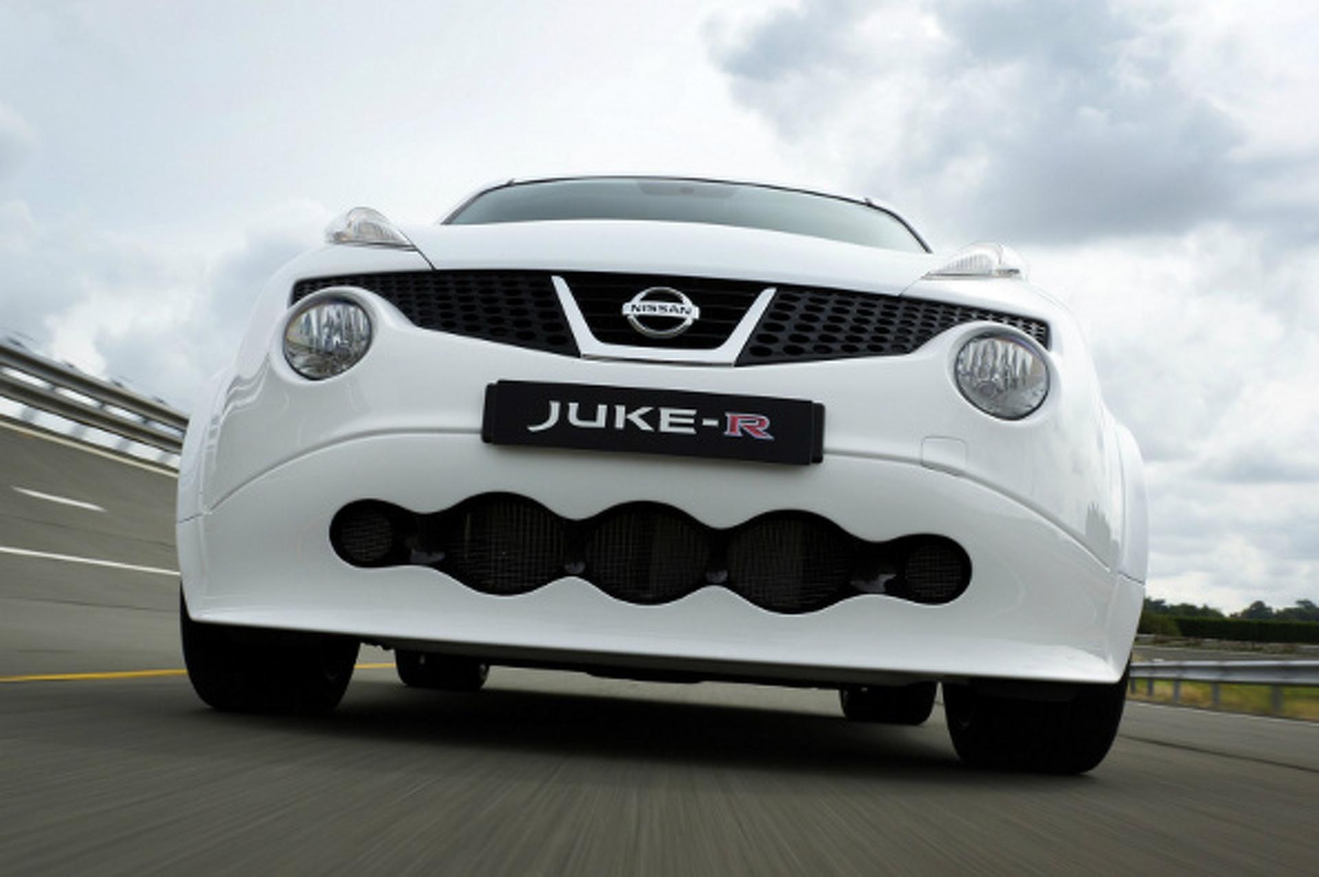 $600,000 Nissan Juke-R Crashed On Test Drive