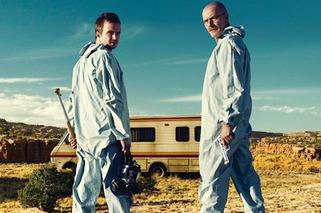 Stars of 'Breaking Bad' Arrive to Premiere in RV