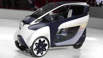 Toyota i-Road concept at Tokyo Motor Show 20.11.2013