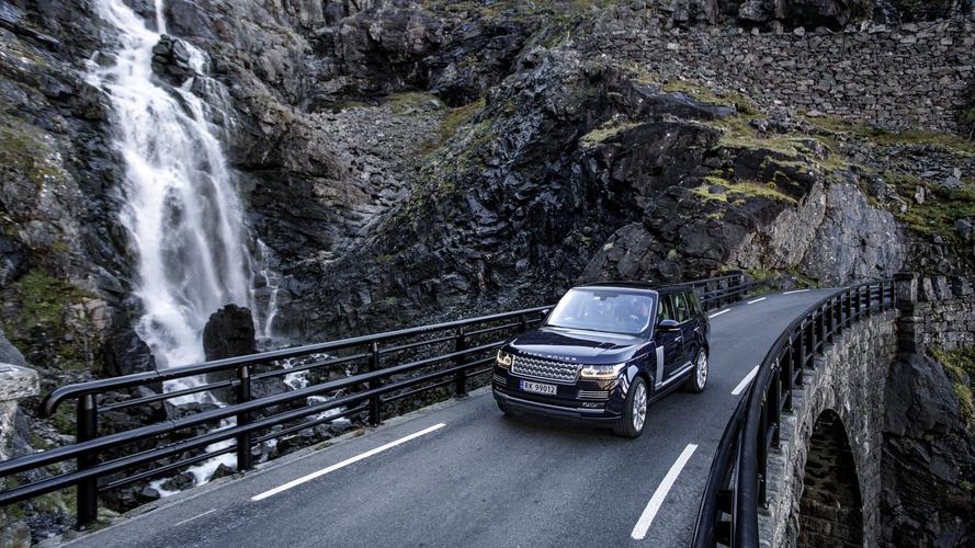 PHOTOS - Découvrez le Range Rover à travers la Norvège